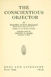 The conscientious objector by Walter Guest Kellogg