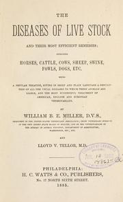 The diseases of live stock and their most efficient remedies by William B. E. Miller