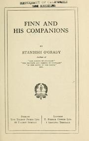 Finn and his companions by O'Grady, Standish