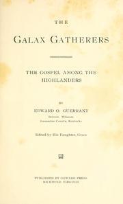 The galax gatherers PDF