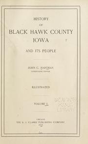 History of Black Hawk County, Iowa, and its people