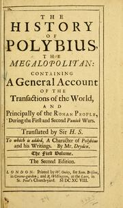 Historiae by Polybius.
