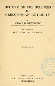 Histoire des sciences exactes et naturelles dans l'antiquit PDF