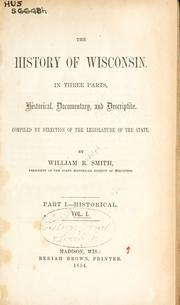 The history of Wisconsin PDF
