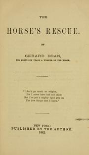 The horse's rescue PDF