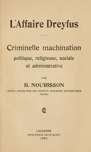 L' affaire Dreyfus PDF