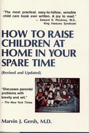 How to raise children at home in your spare time PDF