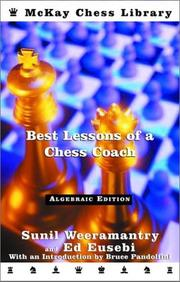 Best lessons of a chess coach PDF