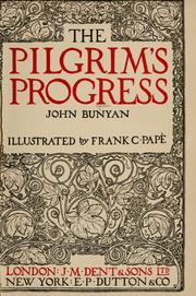 Cover of: The pilgrim's progress by John Bunyan