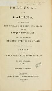 Portugal and Galicia by Carnarvon, Henry John George Herbert Earl of