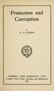 Protection and corruption PDF