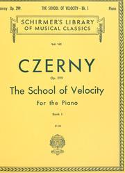 The school of velocity by Carl Czerny