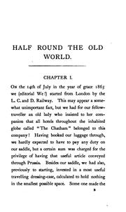 Half round the old world, being some account of a tour in Russia, the Caucasus, Persia, and Turkey PDF