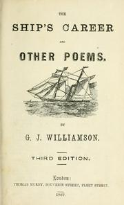 The ship's career, and other poems PDF