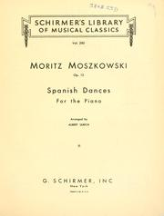 Spanish dances by Moritz Moszkowski
