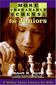 More Unbeatable Chess for Juniors (Chess) PDF