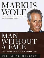 Man without a face by Wolf, Markus