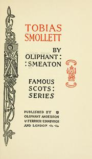 Tobias Smollett by William Henry Oliphant Smeaton