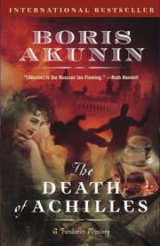 The death of Achilles by B. Akunin
