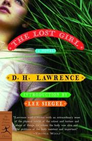 Cover of: The lost girl by D. H. Lawrence