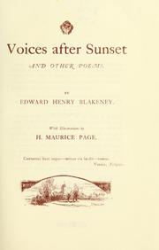 Voices after sunset PDF