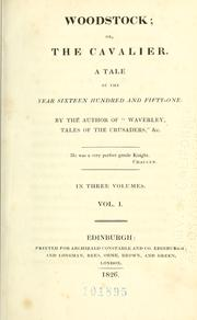 Woodstock by Sir Walter Scott