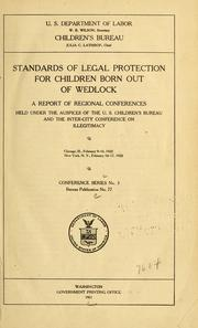 Standards of legal protection for children born out of wedlock PDF
