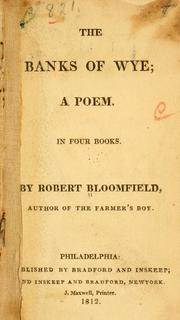 The banks of Wye by Bloomfield, Robert