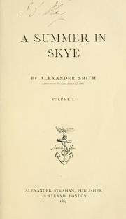 A summer in Skye by Smith, Alexander