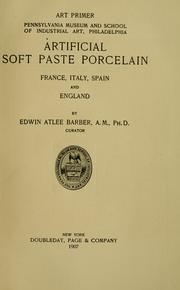 Artificial soft paste porcelain
