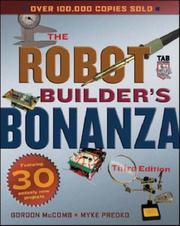 The robot builder's bonanza by Gordon McComb