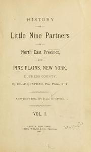 History of Little Nine Partners by Isaac Huntting