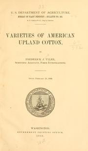 Varieties of American upland cotton PDF