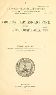 Marketing grain and live stock in the Pacific coast region PDF