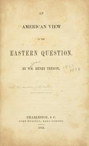 An American view of the Eastern question PDF