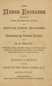 The horse educator PDF