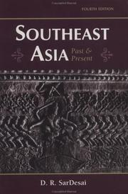 Southeast Asia, past & present by D. R. SarDesai