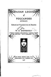 Hawaiian Legends of Volcanoes PDF