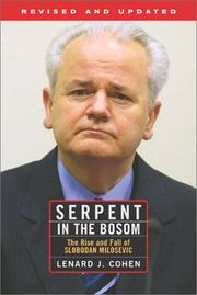 Serpent in the bosom by Lenard J. Cohen