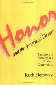 Honor and the American dream PDF