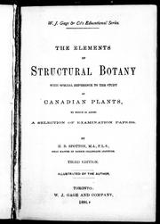 The elements of structural botany by H. B. Spotton