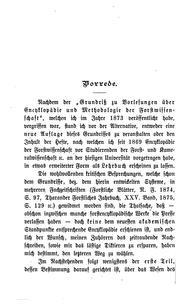 Encyklopädie und Methodologie der Forstwissenschaft