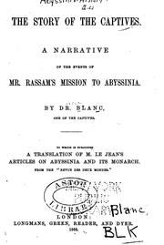The Story of the Captives: A Narrative of the Events of Mr. Rassam's Mission .. PDF