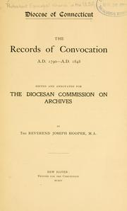 The records of convocation, A.D. 1790-A.D. 1848 PDF