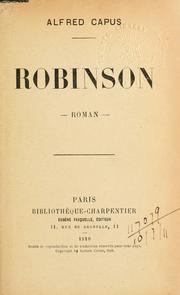 Robinson, Roman PDF