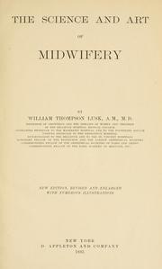 The science and art of midwifery by William Thompson Lusk