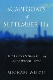 Scapegoats of September 11th by Michael Welch