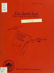 The south end: district study committee report PDF