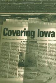 Covering Iowa by William B. Friedricks