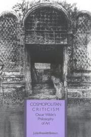 Cosmopolitan criticism PDF